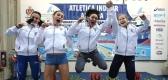 LA SQUADRA PROMESSE DONNE CAMPIONE D'ITALIA INDOOR AD ANCONA